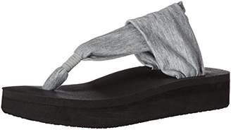 Sanuk Women's Yoga Sling Wedge Flip Flop