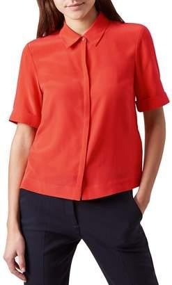 Hobbs Orange 'Ebony' Shirt