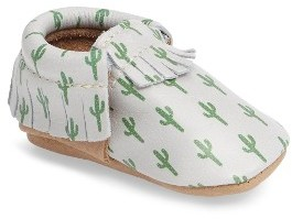 Infant Boy's Freshly Picked Cactus Print Moccasin $60 thestylecure.com