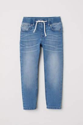 H&M Slim Pull-on Jeans - Denim blue - Kids