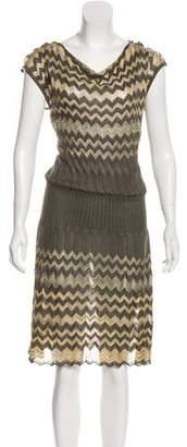 Missoni Chevron Midi Dress
