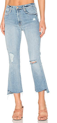 MOTHER The Insider Crop Step Fray $228 thestylecure.com
