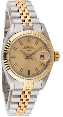 Rolex Date Watch $2,495 thestylecure.com