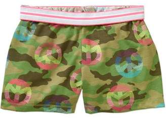 Faded Glory Girls' Print Shorts