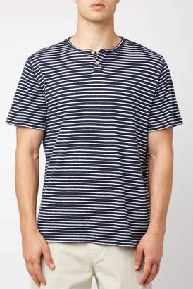 Surfside Supply Striped Henley Shirt