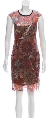 Helmut Lang Printed Sheath Dress