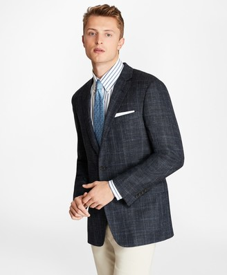 Brooks Brothers Regent Fit Three-Button Wool Blend Sport Coat