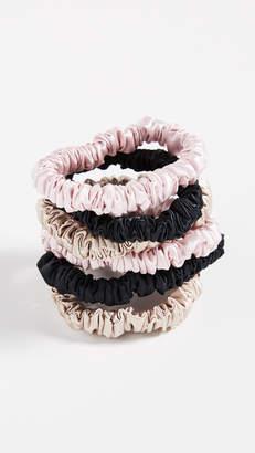 Slip Silk Scrunchies 6 Pack
