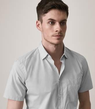 Reiss Goff Slim Fit Short Sleeved Shirt