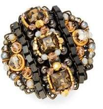 Miriam Haskell Antiqued Cocktail Ring