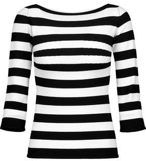 Tomas Maier Striped Stretch-Knit Sweater
