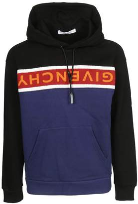 Givenchy Toweling Band Hoodie