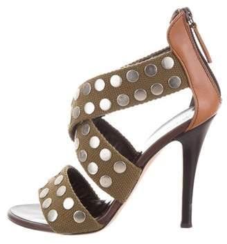 Giuseppe Zanotti Studded Round-Toe Sandals