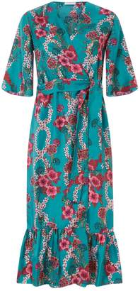 Sandro Silk Floral Dress