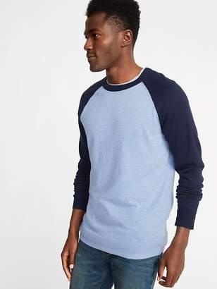 Old Navy Color-Block Raglan-Sleeve Sweater for Men