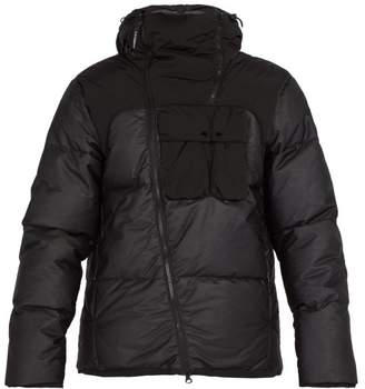 C.P. Company Goggle Down Filled Jacket - Mens - Black