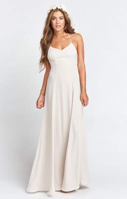 Show Me Your Mumu Godshaw Goddess Gown ~ Show Me the Ring Crisp