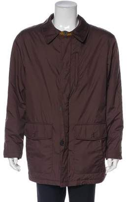 Burberry Woven Trench Jacket