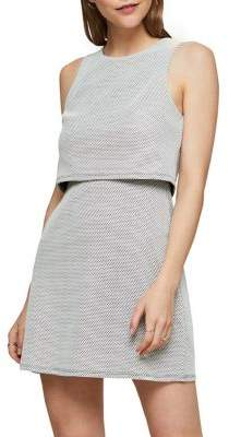 Miss Selfridge Sleeveless Double Layer Dress