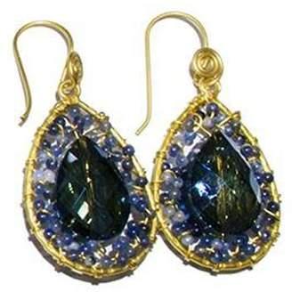 Ananda Handmade Crystal Earrings