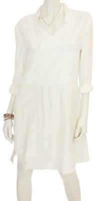 Flannel Geisha Shirt Dress