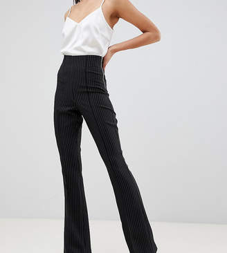 Asos Tall DESIGN Tall slim suit pants in pinstripe