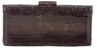 Serpui Marie Iridescent Box Clutch