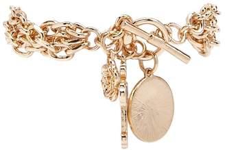 Forever 21 Layered Charm Bracelet
