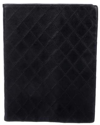 Chanel Quilted Leather Notebook