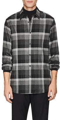 Theory Men's Menlo Checked Flannel Shirt