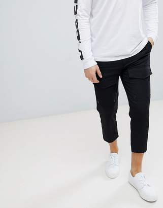 Diesel P-ISAN-AN Cropped Cargo PANTS