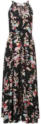 Diane von Furstenberg floral maxi dress