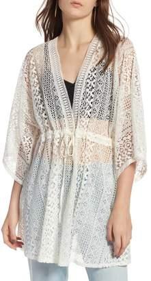 Treasure & Bond Lace Kimono Pullover