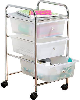 Honey-Can-Do 3-Drawer Plastic Storage Cart on Wheels