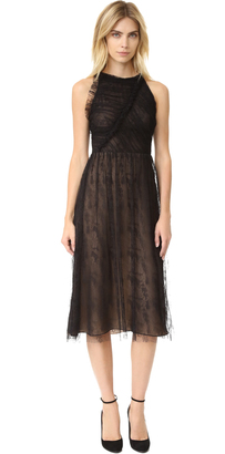Jason Wu Abstract Houndstooth Lace Racer Back Dress $2,795 thestylecure.com