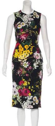 Dolce & Gabbana Silk-Blend Dress w/ Tags