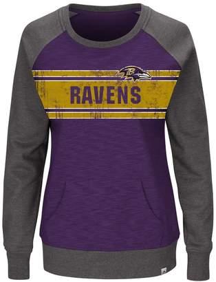Majestic Plus Size Baltimore Ravens Classic Fleece