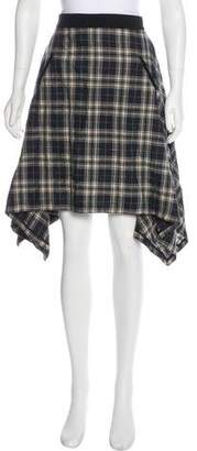 Marissa Webb Knee-Length Plaid Skirt