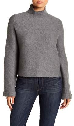 360 Cashmere Kareena Mock Neck Cashmere Sweater