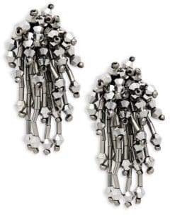 Panacea Faceted Statement Earrings