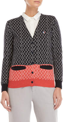 Le Mont St Michel French Lamb Cardigan