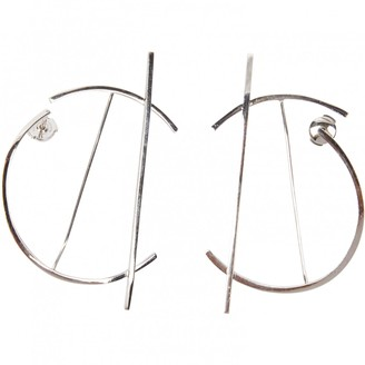 O'fee Ofée Ofee Abstraction Silver Silver Earrings
