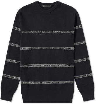 Versace Taped Crew Knit