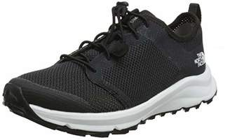 The North Face Women's W Litewave Flow Lace II Low Rise Hiking Boots, Black/TNF White Ky4, 6 (39 EU)