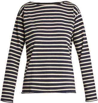 MiH Jeans Simple striped cotton-jersey top