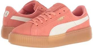 Puma Kids Suede Platform SNK Girls Shoes