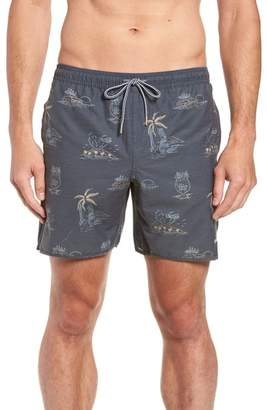 rhythm Maui Beach Swim Trunks