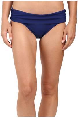 Athena Cabana Solids Lani Banded Bikini Bottom Women's Swimwear