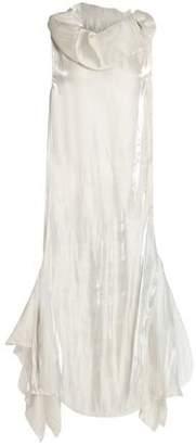 Marques Almeida Marques' Almeida Asymmetric Paneled Faille Gown