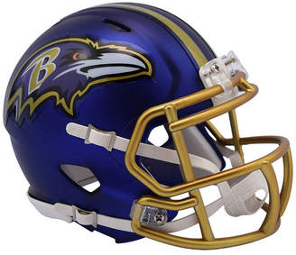 Riddell Baltimore Ravens Speed Blaze Alternate Mini Helmet